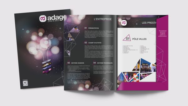 Adage Pose et déco pochette agence Desi-gn