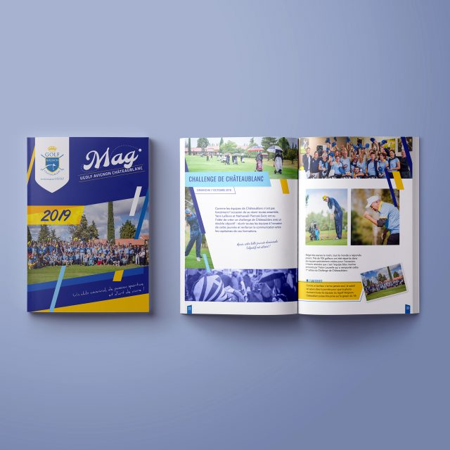 Magazine-A4-Ugolf-Agence communication Desi-gn_2019
