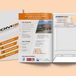 Pochette Commerciale IDME Agence Communication Desi-gn